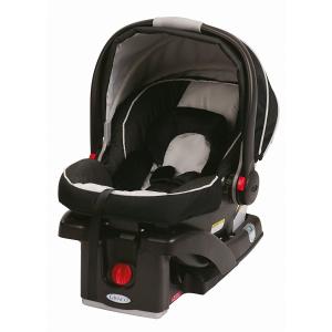 $159.99 (原价$279.99)Graco SnugRide Click Connect 35 超轻婴儿汽车安全提篮