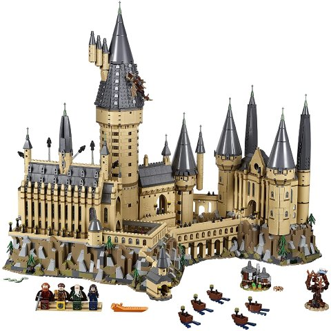 $649 速抢难得补货:LEGO 哈利波特霍格沃茨城堡收藏版