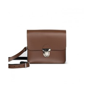 GwenissSofia Crossbody Bag - Dark Brown