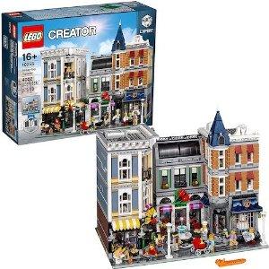 $369(原价$399)LEGO 创意高手系列 集会广场 飞快断货速度冲