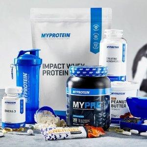 超级闪购!前500名顾客额外6折优惠Myprotein官网促销 囤蛋白粉,维生素的好时机~