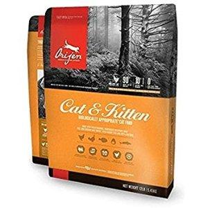 Orijen Dry Cat and Kitten Food, 12 lb