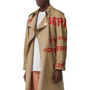 最高送$2000礼卡 收封面类似款Burberry服饰、鞋履、配饰热卖 收经典风衣、格纹围巾