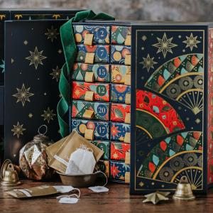 满额赠135周年限定包 圣诞红酒茶£6.5一年一次:Whittard 圣诞限定 咖啡、热巧、风味茶 圣诞日历曝光来啦