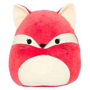 Squishmallow小红狐抱枕