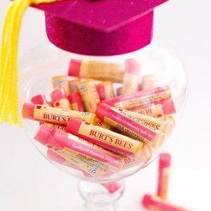 限时半价+最高满减£30 纯天然有机唇膏£2.5收Burts Bees小蜜蜂唇膏精选 小蜡笔、唇釉都有