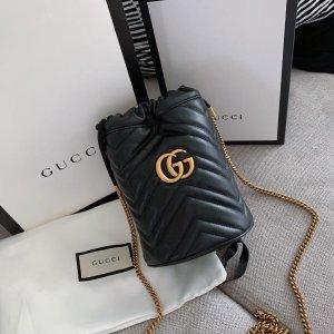 定价优势 封面同款$1095春夏小包:Gucci 马卡龙色Marmont、mini酒神等千元美包集合