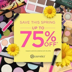 Up to 75% offSpring Super Savings Event @ BHCosmetics