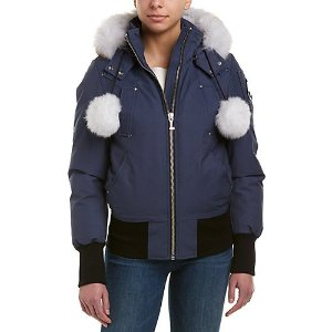 9a927b3fe547 Moose KnucklesDebbie Down Bomber Jacket