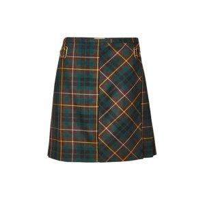 Burberry羊毛短裙