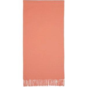 Acne Studios粉色羊毛围巾