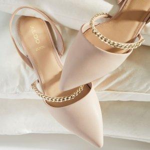 AldoAleliwen 粉色单鞋