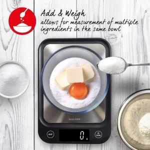 现价£12.99(原价£29.99)Salter 精密电子厨房秤特卖 减肥绝不多吃一克米