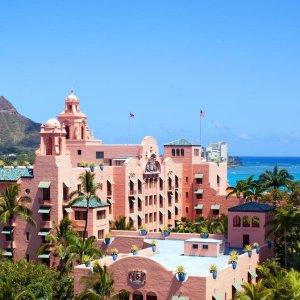 $912起  5星网红酒店 粉红少女心必备4天3晚旧洛杉矶 - 檀香山机票 + 皇家夏威夷酒店入住