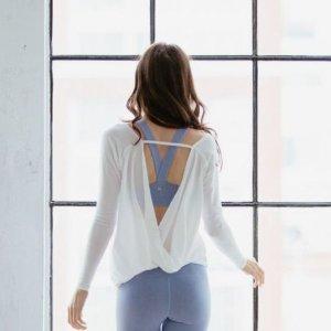From $3.37 Women's Open Back Yoga Tops @ Amazon.com