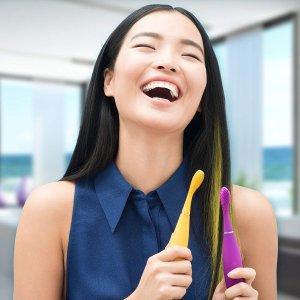 6折 把刷牙变成乐趣FOREO Issa Mini 电动硅胶牙刷热卖 卓越口腔护理体验