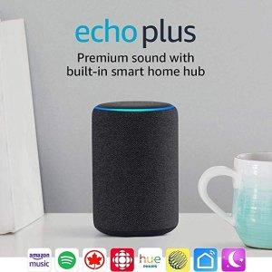 AmazonEcho Plus(木炭黑)