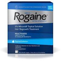 Rogaine 男用生发水 60毫升 3瓶(可使用3个月)
