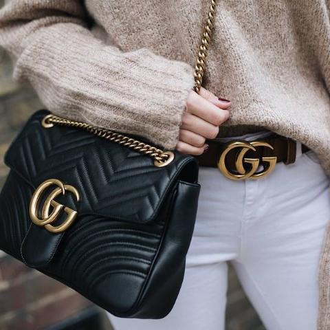 Gucci双G皮带£275 已包含进口税NET-A-PORTER UK 英国站大牌上新,巴黎世家老爹鞋£541 ,脏鹅£291