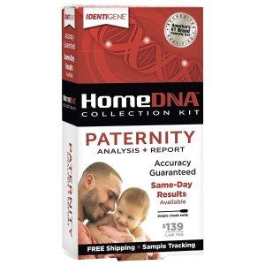HomeDNA 亲子鉴定测试