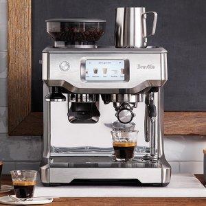 $995.35 Breville BES880BSS Barista Touch Espresso Maker, Stainless Steel