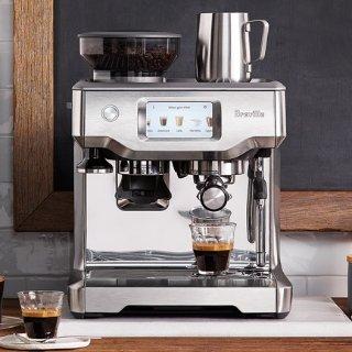 899.95(原价$1500)史低价:Breville Barista 专业级触控全自动智能意式咖啡机