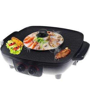 韩式烤涮一体锅