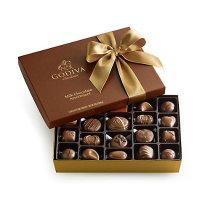 Godiva 牛奶巧克力礼盒 - 22 pc.| GODIVA