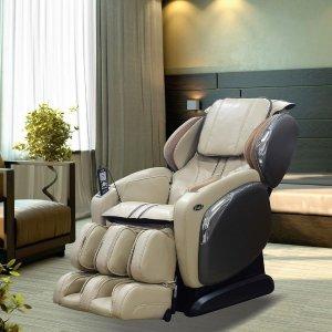 TitanOsaki 4000LS 专业高级皮按摩椅 白色