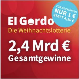 全年最高奖金!整整24亿欧元!圣诞最最期待!El Gordo 西班牙圣诞特别彩票 新用户只要€1