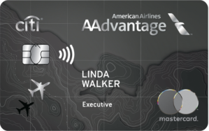 Earn 50,000 American Airlines AAdvantage® bonus miles after qualifying purchase.Citi® / AAdvantage® Executive World Elite™ Mastercard®