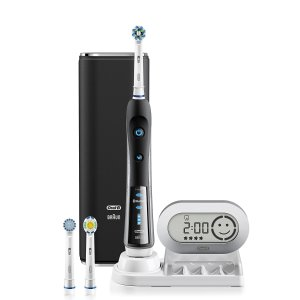 $64.99Electric Toothbrush, Oral-B Pro 7000 SmartSeries Black Electronic Power Rechargeable Toothbrush with Bluetooth Connectivity Powered by Braun