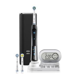 $97.15(原价$119.94)Oral-B Pro 7000 智能蓝牙电动牙刷 带3个刷头 黑色