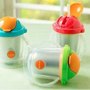 8折无税 收封面保温吸管杯Innobaby 儿童餐具、水杯、牙胶等产品热卖
