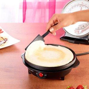 折后€18 送翻面小工具白菜价煎饼锅 20cm直径 不粘涂层 可丽饼、煎饼果子在家做