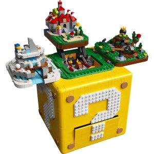 Lego超级玛丽系列 64 问号块 71395| 超级玛丽系列