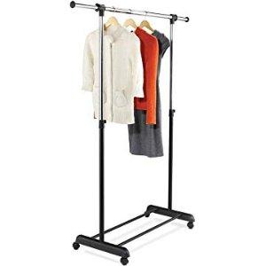 $12.86Honey-Can-Do GAR-01124 Expandable Garment Rack, Chrome/Black @ Amazon