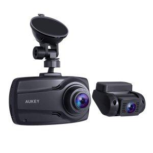 多款记录仪折扣 $29.99起AUKEY DR03 双摄像头记录仪