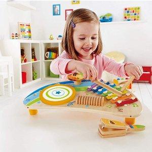 低至$15Hape 德国高品质儿童木质玩具特卖 收双面爬行垫
