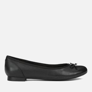 Clarks蝴蝶结平底鞋