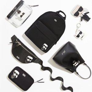 专场7.5折 封面单品都有Karl Lagerfeld 精选热卖 好价收老佛爷logo包包、周边
