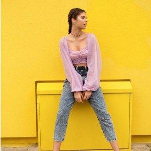 低至6折 €6收心机短袖ASOS官网 美衣美鞋热卖 紧跟潮流的少女品牌