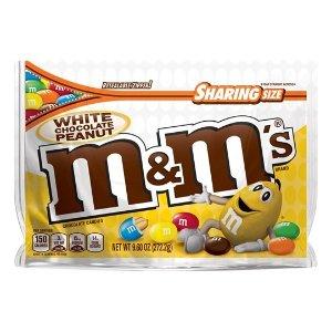 M&M'S 花生白巧克力糖 9.6oz
