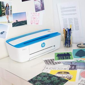 6.1折 $54.99(原价$89.99)惠普 DeskJet 3755 紧凑型全能打印机 不占地方的颜值利器