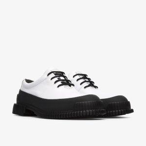 Camper拼色皮鞋