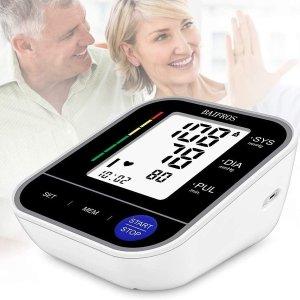 折后€14.44 还能监测异常心率闪购:BAIFROS 家用上臂血压仪热促 高精度测量 守护全家健康