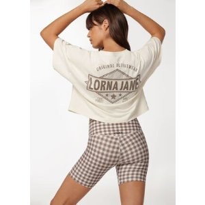 Lorna Jane封面款Check Mate 格纹骑行裤