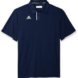$12.82(原价$55)Adidas 男士Polo 衫清仓特卖