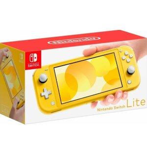 使用App下单 $174.99Nintendo Switch Lite 掌机 黄绿灰三色可选