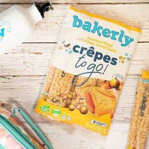 全场8折 $3收脆球夹心薄饼卷独家:Bakerly 法式Brioche面包、松饼、夹心Crepes热卖